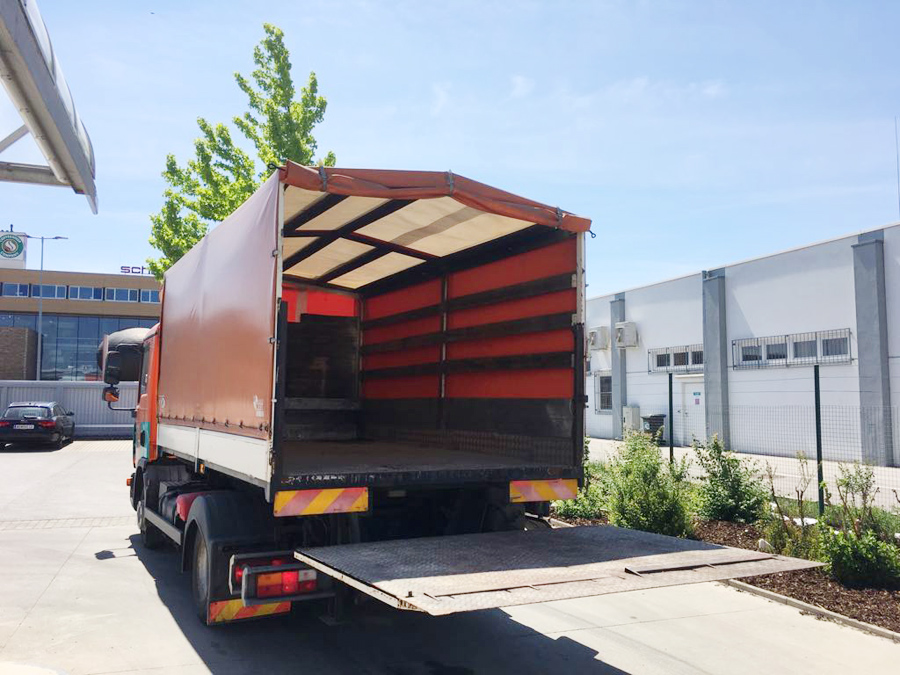 Pöck Container LKW-Service