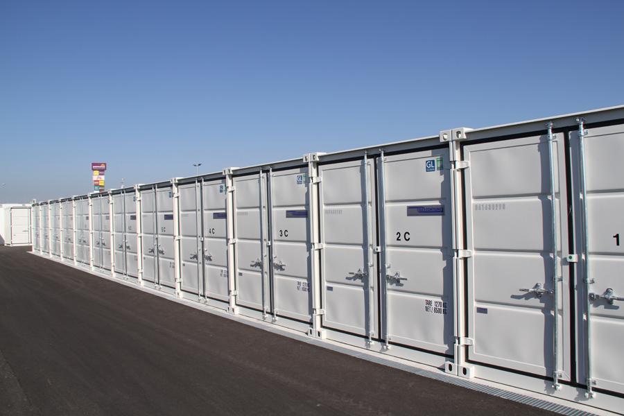 Containeranlage auf Mein Lagerplatz