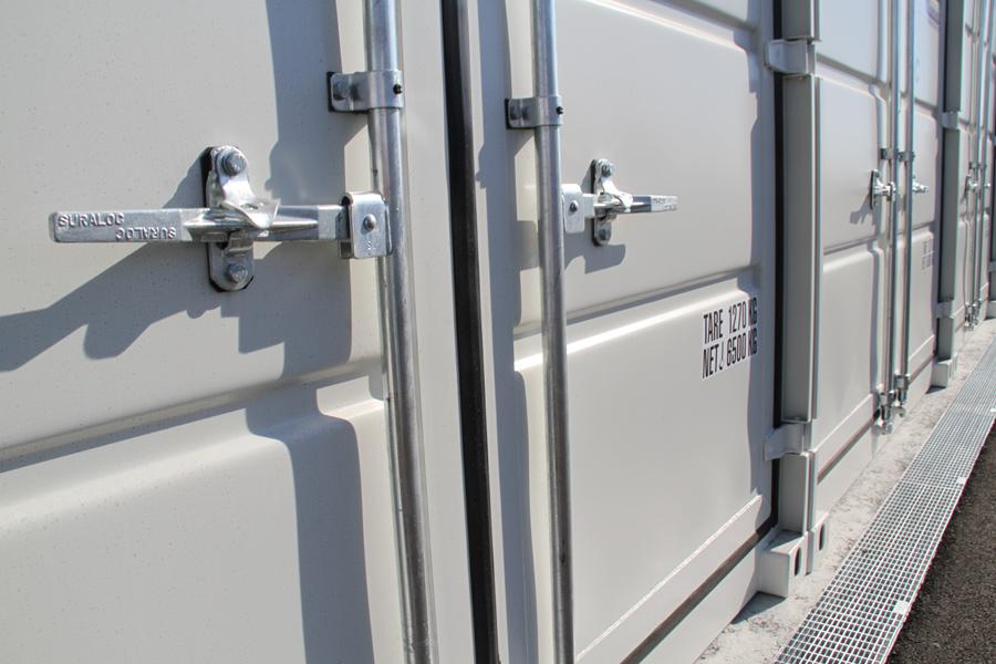 Container-Verriegelung auf Mein Lagerplatz