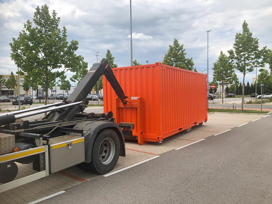 Pöck-LKW Container-Bringservice 3