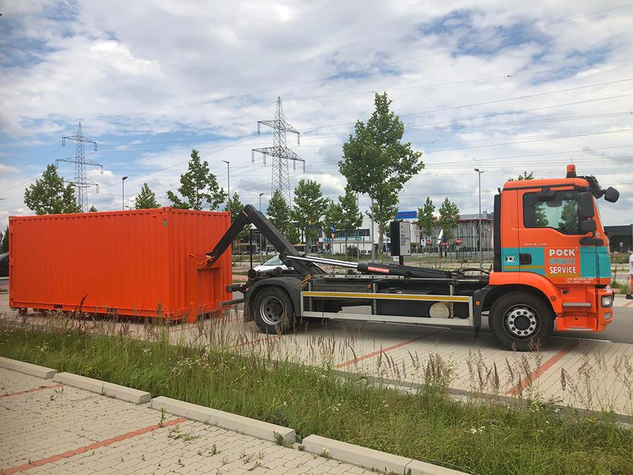 Pöck-LKW Container-Bringservice 6